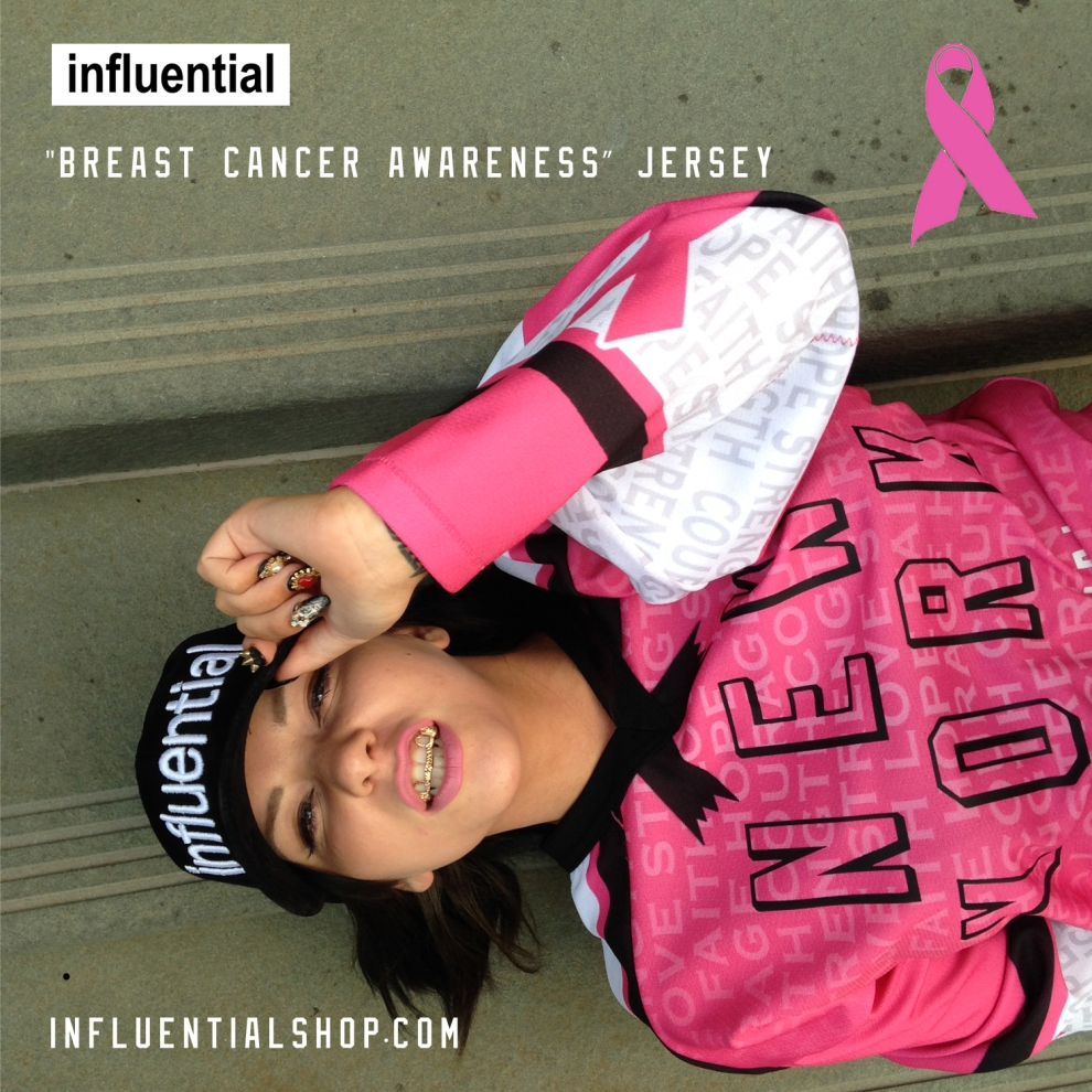 influentialNY Breast Cancer Awarness